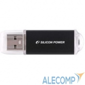 SP008GBUF2M01V1K Silicon Power USB Drive 8Gb Ultima II SP008GBUF2M01V1K USB2.0, Black