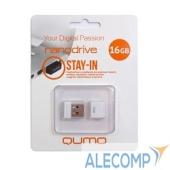 QM16GUD-NANO-W USB 2.0 QUMO 16GB NANO QM16GUD-NANO-W White