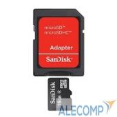 SDSDQM-016G-B35A Micro SecureDigital 16Gb SanDisk SDSDQM-016G-B35A MicroSDHC Class 4, SD adapter