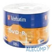 43791 Verbatim Диски DVD-R 4.7Gb, 16-x Data Life (50 шт) (43791)