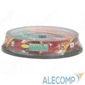 VSDVDPRDLCB1002 VS Диски DVD+R 8.5Gb 8-х Double Layer, 10 шт, Cake Box Ink Print
