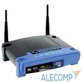 WRT54GL-EU Linksys WRT54GL-EU Беспроводный маршрутизатор с 4-х портовым коммутатором 802.11g