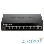 DSR-250/A4A D-Link DSR-250/A1A/A2A/A4A Межсетевой экран 1x10/100/1000Mbps WAN, 8x10/100/1000Mbps LAN, 1xUSB