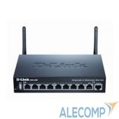 DSR-250N/B1A D-Link DSR-250N/B1A Беспроводной маршрутизатор c 1 портом WAN, 8 портами LAN 10/100/1000