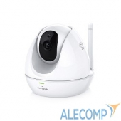 NC450 TP-Link NC450 Поворотная облачная Wi-Fi HD-камера с ночным видением 720p HD угол обзора - 360° по горизонтали и до 150° по вертикали (угол поворота/на
