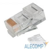P88RB03V2I Neomax Коннектор UTP RJ45 под однож. кабель (с вставкой), Кат.5 (100шт.) P88RB03V2I