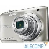 "VNA970E1 Nikon CoolPix A100 серебристый 20.1Mpix Zoom5x 2.7"" 720p 25Mb SDX"