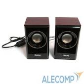 AST-15UPCHERRY Dialog Stride AST-15UP CHERRY - акустические колонки 2.0, 6W RMS, вишневые, питание от USB
