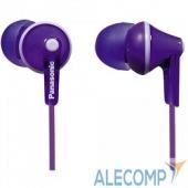 RP-HJE125E-V Panasonic RP-HJE 125 E-V вкладыши канальные, фиолетовые