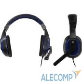 64116 Defender Warhead G-190 синий + черный, кабель 2,5 м 64116