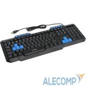 337452 Oklick 750G черный/черный-синий USB 337452