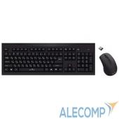 612841 Oklick 210M Wireless Keyboard&Optical Mouse Black USB 612841