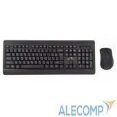 337455 Oklick 270M black USB, Клавиатура + мышь 337455