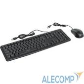 337142 Oklick 600M black USB, Клавиатура + мышь 337142