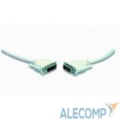 CC-DVI-15 Кабель DVI-D single link Gembird, 4.5м, 19M/19M, экран, феррит.кольца, пакет CC-DVI-15