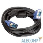 VVG6448-10MC VCOM VVG6448-10M(C) Кабель монитор-(S)VGA card (15M-15M) 10м 2 фильтра