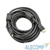 CG511D-7.5M Telecom Кабель (CG511D-7.5M) HDMI 19M/M+2 фильтра 1.4V W/Ethernet/3D с позолоченными контактами