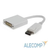 A-DPM-DVIF-002-W Gembird Переходник DisplayPort - DVI , 20M/19F, белый (A-DPM-DVIF-002-W )