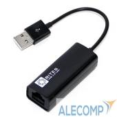 UA2-45-02BK 5bites Кабель-адаптер 5bites UA2-45-02BK USB2.0 - RJ45 10/100 Мбит/с, 10см