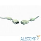 CC-PPVGA-15m Gembird/Cablexpert CC-PPVGA-15m, Кабель VGA Premium ,15M/15M,15м, тройн. экран,феррит. кольца,пакет