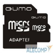 QM8GMICSDHC4 Micro SecureDigital 8Gb QUMO QM8GMICSDHC4 MicroSDHC Class 4, SD adapter