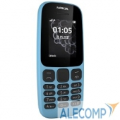 "Nokia105SSTA-1010Blue NOKIA 105 SS BLUE TA-1010 (2017) A00028372 1.4"", 128x128, FM, 8Мб"