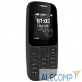"A00028315 NOKIA 105 DS ТА-1034 BLACK (2017) A00028315 1.4"", 128x128, FM, 8Мб"