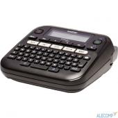 PTD210R1 Brother PT-D210 {Принтер для печати наклеек Brother PT-D210 (настольный,от 3,5 до 12мм,20мм/сек,180т/д,однострочный,только ленты TZE)}