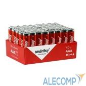 SBBA-3A40S Smartbuy AAA/LR03, Alkaline, 40 шт. в упаковке (SBBA-3A10BX)