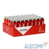 SBBA-2A40S Smartbuy AA/LR6, Alkaline, 40 шт. в упаковке (SBBA-2A40S)