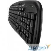 31310479102 Genius KB-M225C Black USB Клавиатура, 9 мультимедийных клавиш 31310479102