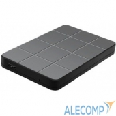 """3UB2P1 AgeStar 3UB2P1 USB 3.0 Внешний корпус 2.5"""" SATAIII HDD/SSD пластик, чёрный"""