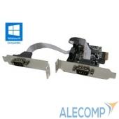 XWT-PE2SLP Orient XWT-PE2SLP PCI-E, COM 2-ports (WCH CH382) Low Profile