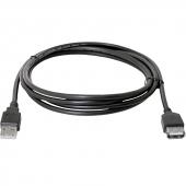 USB02-06 Кабель удлинительный USB 2.0 (AM) -> USB2.0 (AF), 1.8m, Defender USB02-06 (87456)