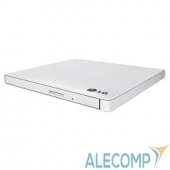 GP60NW60 LG GP60NW60 DVDRW, White, Slim External, USB 2.0