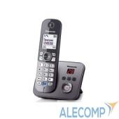 KX-TG6821RUM Panasonic KX-TG6821RUM (серый металлик)