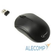 MUSW-205 Gembird MUSW-205, беспроводная мышь, USB-ресивер 2.4ГГц, 1000 dpi, 3 кнопки, Черная