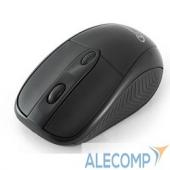 MUSW-219 Gembird MUSW-219, беспроводная мышь, USB-ресивер 2.4ГГц, 1600 dpi, 4 кнопки, Черная