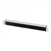 """R-32-12C13-I-440-K Блок розеток ЦМО (R-32-12C13-I-440-K), 19"""", 12 розеток IEC 60320 C13, 32A, цвет черный"""