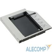 """SSMR2S AgeStar SSMR2S Сменный бокс для HDD/SSD  SATA-SATA, металл-пластик, черный, 2.5"""""""