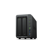 DS718+ Synology DS718+ Сетевое хранилище 2xHDD Hot Plug, QC1,5GhzCPU/2Gb(upto6)/RAID0,1,10,5,6/ SATA(3,5' or 2,5')(up to 7 with DX517)/3xUSB3.0/1eSATA/2GigEth/iSCSI/2xIPcam(up to 40)/1xPS/3YW