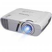 PJD6352LS Проектор ViewSonic PJD6352LS DLP, XGA 1024x768, 3500Lm, 22000:1, 2*VGA, 2*HDMI, mini-USB, mic, 10W speaker, Short-throw, Lamp life 10000h, Noise 27dB (Eco), 2.2кг, White, VS15948 PJD6352LS