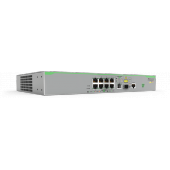 AT-FS980M/9PS-50 Allied Telesis 8 x 10/100T POE+ ports and 1 x combo ports (100/1000X SFP or 10/100/1000T Copper), Fixed AC power supply, EU Power Cord AT-FS980M/9PS-50