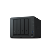 DS918+ Synology QC1,5GhzCPU/4Gb(upto8)/RAID0,1,10,5,6/up to 4hot plug HDDs SATA(3,5' or 2,5')(up to 9 with DX517)/2xUSB3.0/2GigEth/iSCSI/2xIPcam(up to 40)/1xPS/3YW(repl DS916+) DS918+