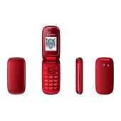 """SF07R IRBIS SF07, 1.77"""" (128x160), cam 0,08MPx, 2xSimCard, Bluetooth, microUSB, MicroSD, Red SF07R"""