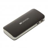 CNE-CPB100DG CANYON CNE-CPB100DG, 10000 мА/ч, 2*USB, Dark Grey