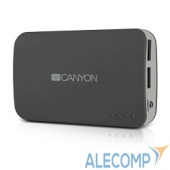 CNE-CPB78DG CANYON CNE-CPB78DG, 7800 мА/ч, 2*USB, Dark grey