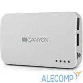 CNE-CPB78W CANYON CNE-CPB78W, 7800 мА/ч, 2*USB, White