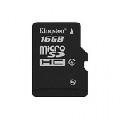 SDC4/16GBSP 16Gb microSDHC Kingston (SDC4/16GBSP), Class 4, без адаптера, RTL