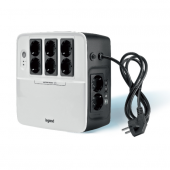 310038 Legrand Keor Multiplug 600VA/360W, 8xSchuko outlets(2 Surge & 6 batt.), DSL protection, USB 310038